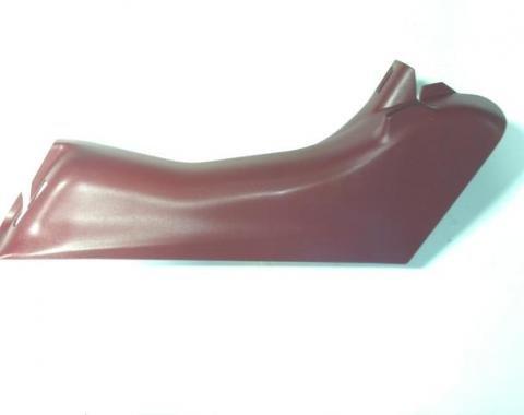 Corvette Seat Belt Lower Pillar Trim, Left, Oak USED 1997-2004