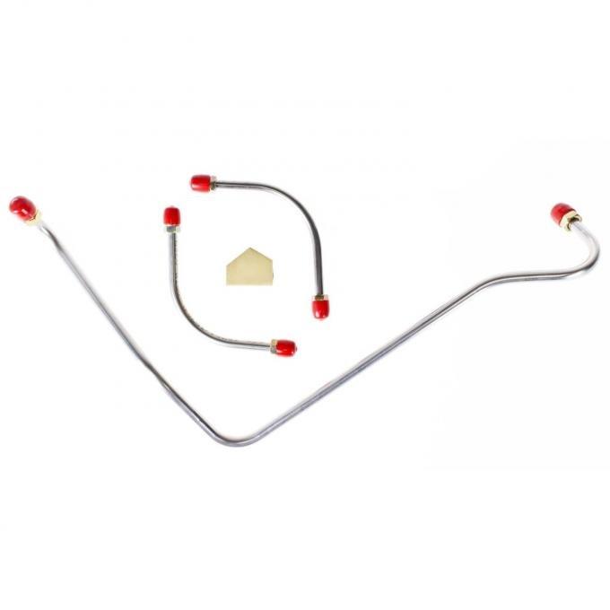Right Stuff 70 - 72 LT-1 - Fuel Pump to Carb. Lines, 4 Pcs. VPC7031
