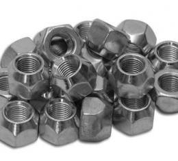 Corvette Wheel Lug Nut Set, Steel, Original Equipment, 1953-1982