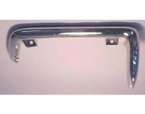 Corvette Rear Bumper, Replacement, Left, 1968-1973