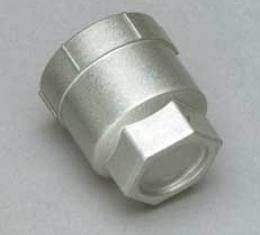 """Corvette Lug Nut Cap set of 20, Silver, Plastic, For Cars With 16"""" Wheels, 1988, 1990-1996"""