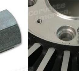 Corvette Lug Nut, Knock Off Wheel, 1963-1966