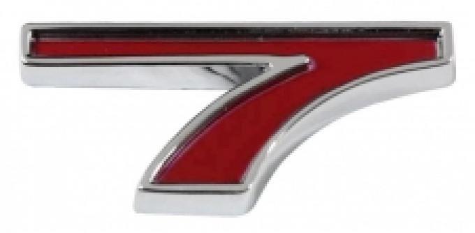 "Trim Parts Generic Number, ""7"", Red 5188G"