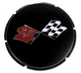 Corvette Emblem, Gas Lid Primered, 1967