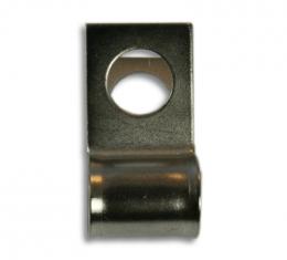 "Brake & Fuel Line Clamp, 1/4"" Line Clip 1/4"" Bolt Hole"