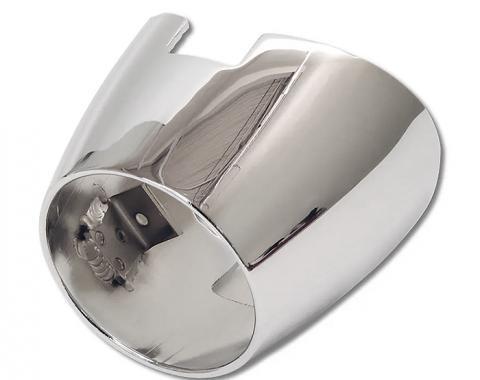 Corvette Exhaust Chrome, Rear Bezel, 1956-1957