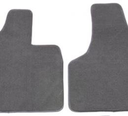Covercraft 1977-1982 Chevrolet Corvette Premier Plush Custom Fit Floormat, 2 pc set, Black 761312-25