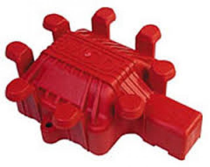 Corvette Distributor Coil Cover, MSD, 1975-1991
