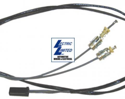 Corvette Harness, Air Conditioning & Heater Indicator Lamp, 1964-1967
