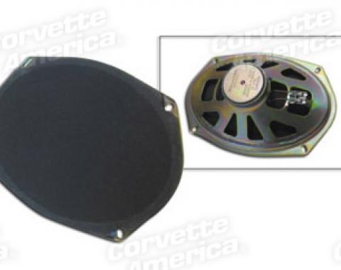 Corvette Rear Speaker, Replacement, 1978-1982