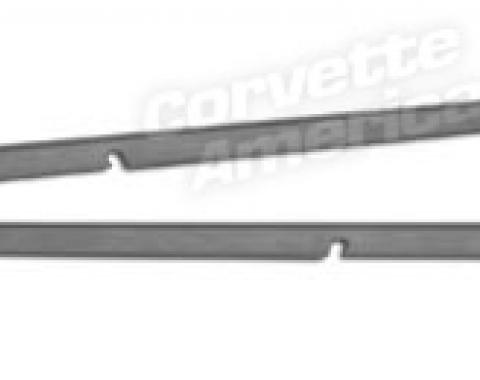 Corvette Wire Cover Floor Plates, 1965-1967