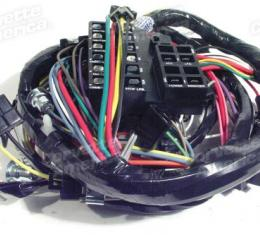 Corvette Harness, Dash with Backup Lamps, 1965-1966