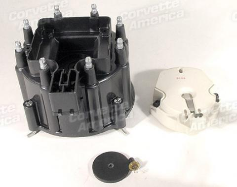 Corvette Distributor Cap & Rotor Kit, 1975-1982