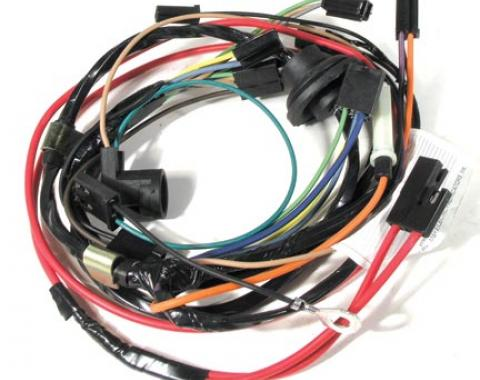 Corvette Harness, Air Conditioning with Heater Wiring, 1975