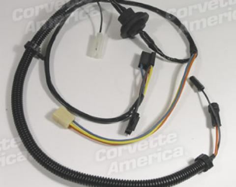 Corvette Harness, Heater Without Air Conditioning, 1978-1979