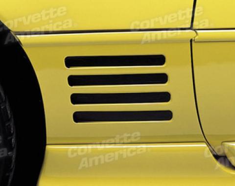 Corvette Decals, Side Vent Louver, 1991-1994