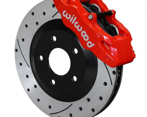 Wilwood Brakes 1997-2013 Chevrolet Corvette SLC56 Front Replacement Caliper and Rotor Kit 140-15175-DR