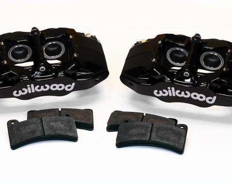 Wilwood Brakes 1997-2013 Chevrolet Corvette DPC56 Rear Replacement Caliper Kit 140-15174-BK