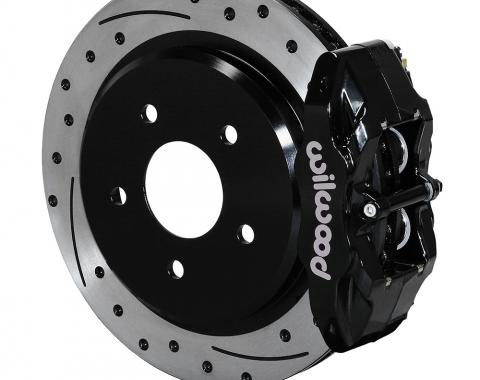 Wilwood Brakes 1997-2013 Chevrolet Corvette DPC56 Rear Replacement Caliper and Rotor Kit 140-15176-D