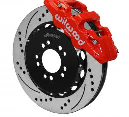 Wilwood Brakes 2014-2019 Chevrolet Corvette AERO6 Big Brake Front Brake Kit 140-13911-DR