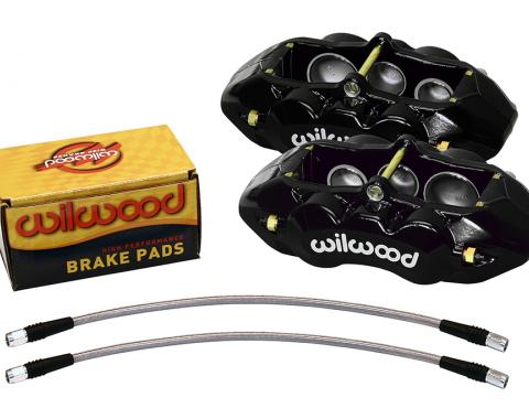 Wilwood Brakes 1965-1982 Chevrolet Corvette D8-6 Front Replacement Caliper Kit 140-11857-BK