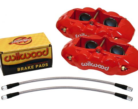 Wilwood Brakes 1965-1982 Chevrolet Corvette D8-4 Front Replacement Caliper Kit 140-10789-R