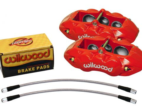 Wilwood Brakes 1965-1982 Chevrolet Corvette D8-6 Front Replacement Caliper Kit 140-11857-R