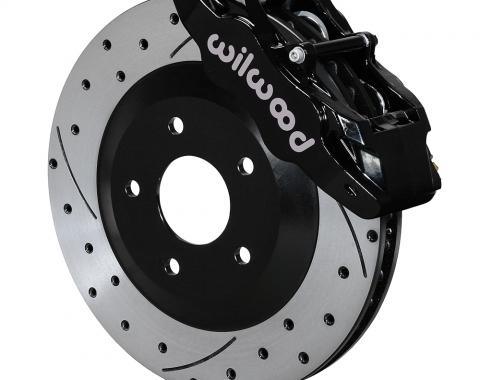 Wilwood Brakes 1997-2013 Chevrolet Corvette SLC56 Front Replacement Caliper and Rotor Kit 140-15175-D