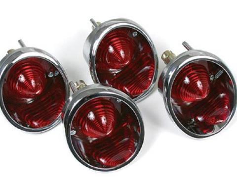 Corvette Taillights, 4 Piece Set, 1963-1967
