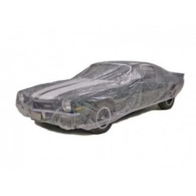 Car Cover, Disposable Clear, Medium
