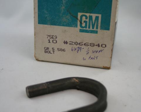 Corvette Half Shaft U-Joint U-Bolt, NOS 1963-1979