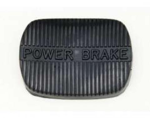 Power Brake Pedal Pad, Manual Transmission, 1958-1965