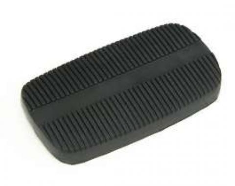 Standard Brake Pedal Pad, With Automatic Transmission, 1958-1967