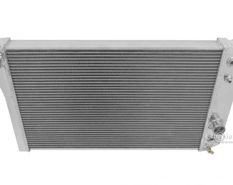 Champion Cooling 2 Row All Aluminum Radiator Made With Aircraft Grade Aluminum EC829