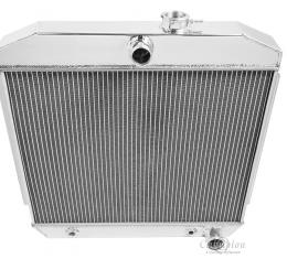 Champion Cooling 3 Row All Aluminum Radiator Made With Aircraft Grade Aluminum CC5057B-BLK
