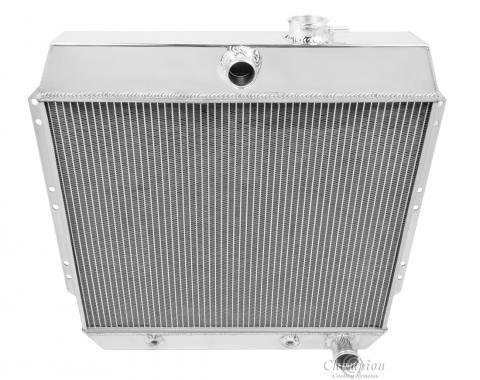 Champion Cooling 4 Row All Aluminum Radiator Made With Aircraft Grade Aluminum MC4954