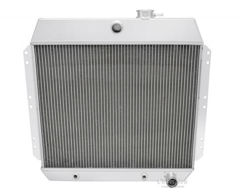 Champion Cooling 2 Row All Aluminum Radiator Made With Aircraft Grade Aluminum EC4954-6