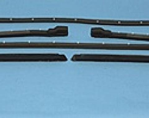 Corvette Hardtop Weatherstrip Kit, USA Made, 1968-1975