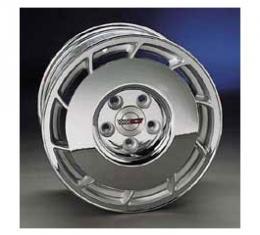 "Corvette Factory Wheels, 16"" x 8.5"" Front & Rear, Chrome Plated, 1986-1987"