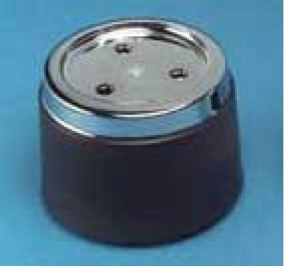 Corvette Wheel Center Cap, Black Without Emblem, For Aluminum Wheel, 1976-1979
