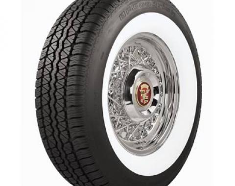 Coker BFGoodrich Silvertown Radial Tires, P 215 /75R15, Radial, Whitewall, Each