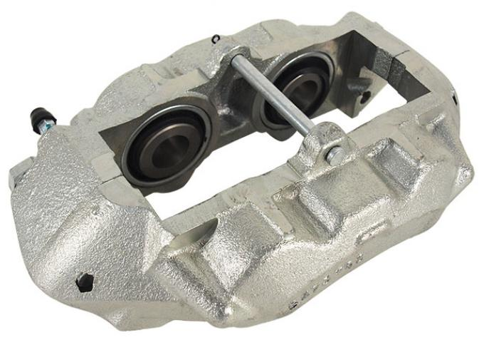 Corvette New Castings Brake Caliper, Right Front, O-Ring Zinc Plated, 1965-1982