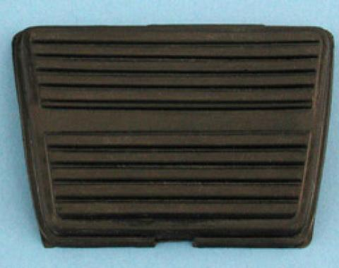 Corvette Brake or Clutch Pedal Pad, Replacement, 1968-1979