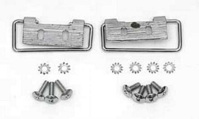 Corvette Convertible Top Bow Swing Latches, Rear, 1961-1962