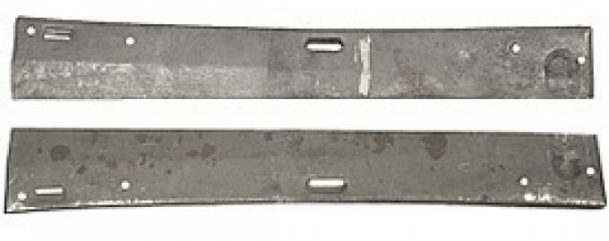 Corvette Door Panel Supports, Upper, Metal, 1959-1962