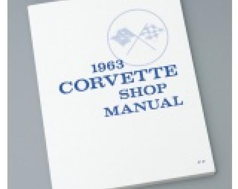Corvette Shop Manual, 1963