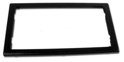 Corvette Rear License Plate Frame, Chrome, 1997-2004