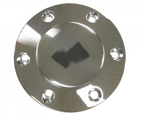 Volante S6 Series Horn Button, Chrome