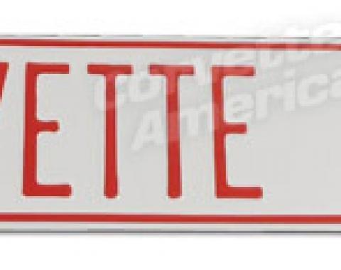 Corvette Corvette Drive Street Sign