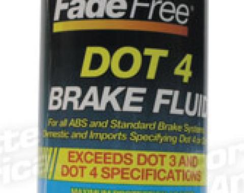 Corvette Brake Fluid, Dot 4 Quart